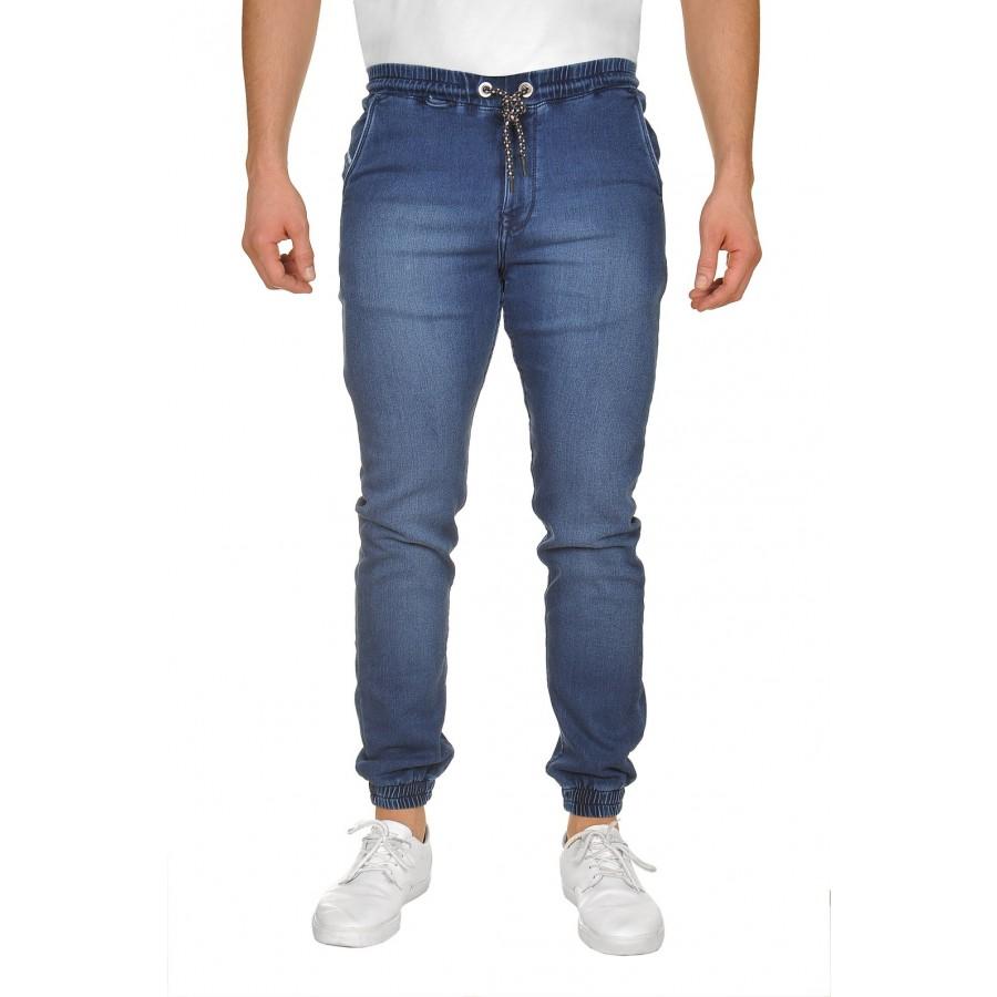 Spodnie jogger blue